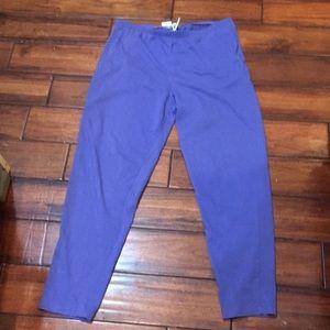 Vintage 80s 90s nike sweatpants purple L grey tag